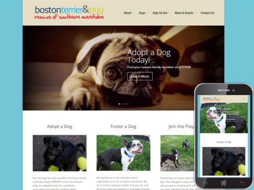 Dog Rescue Website
