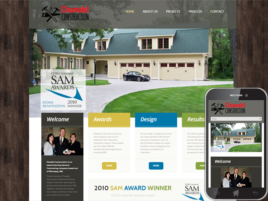Home Renovators Website